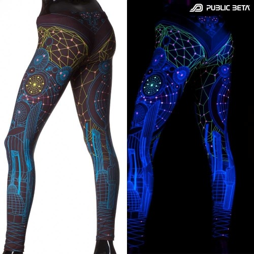 Colony UV D62 - Leggings by Public Beta Wear