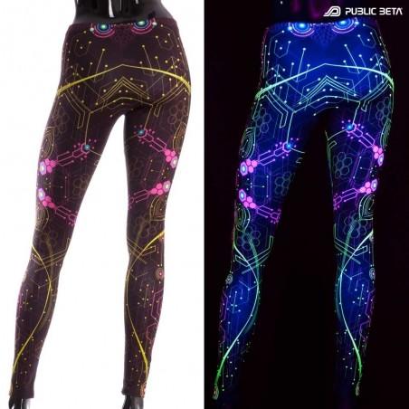 UV Active Psy Leggings