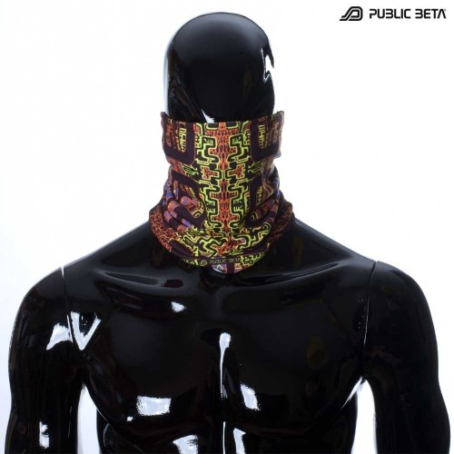 Maze of Ra UV D63 Tube Bandana by Public Beta Wear