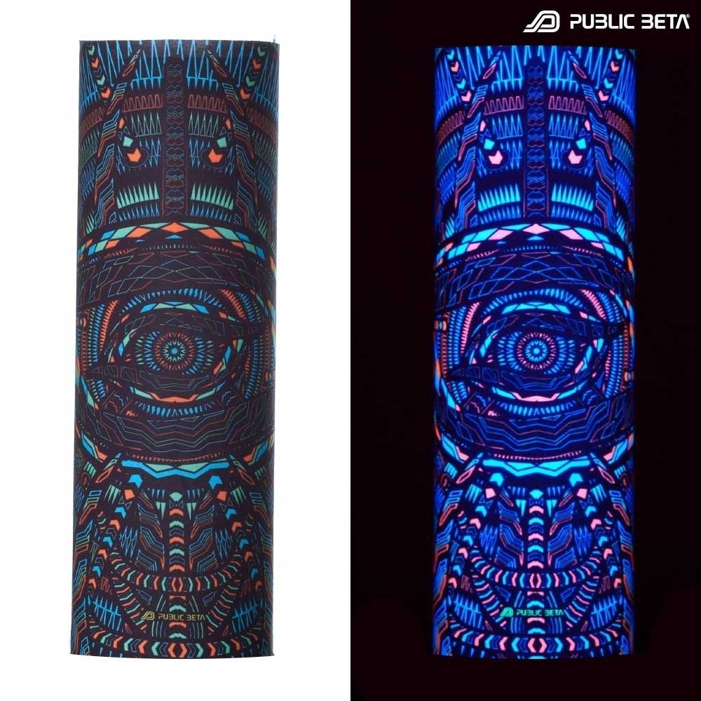 Haedgear/ Bandana / UV Active Face Scarf / I C ALL UV D85