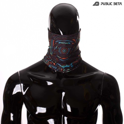 Tube Bandana / UV Active Face Scarf / I C ALL UV D85