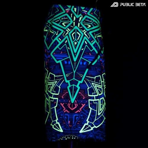 Blacklight Active Boardshorts / D91Trinity