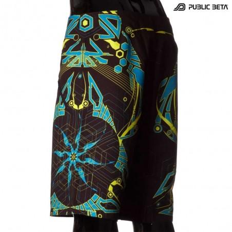 Boardshorts / Glow in Blacklight / D25 Totemo