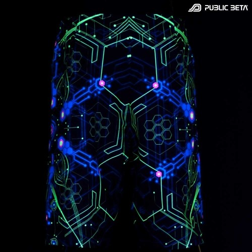 UV Active Boardshorts / D2 Atomic Generator