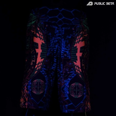 Boardshorts / Blacklight Active Wear/ D83 Activator