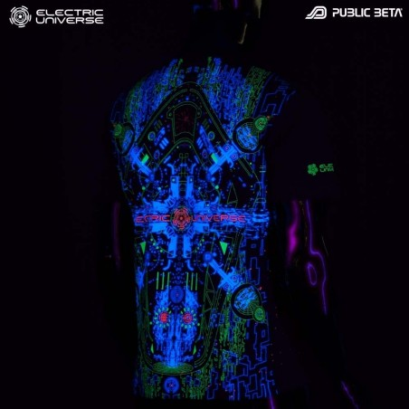 Electric Universe UV Blacklight Active T-Shirt