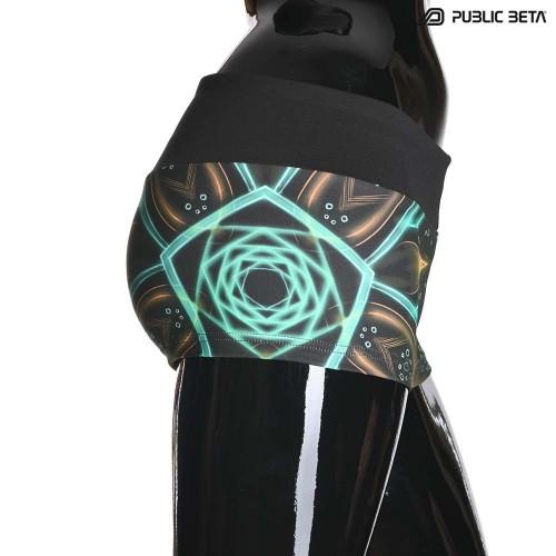 Multiverse UV D111 Shorts M2 / UV Reactive Printed Activewear