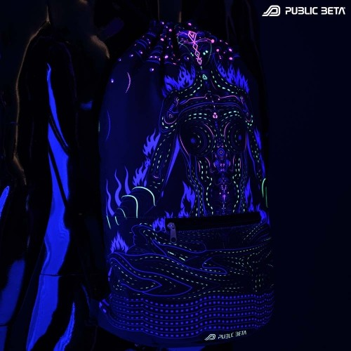 Chakras D99 UV Active Backpack