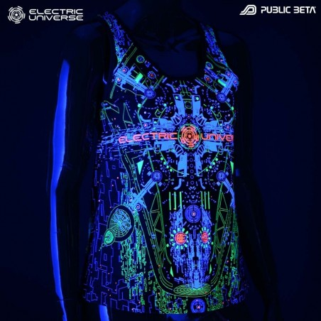 Electric Universe UV Active Tank Top