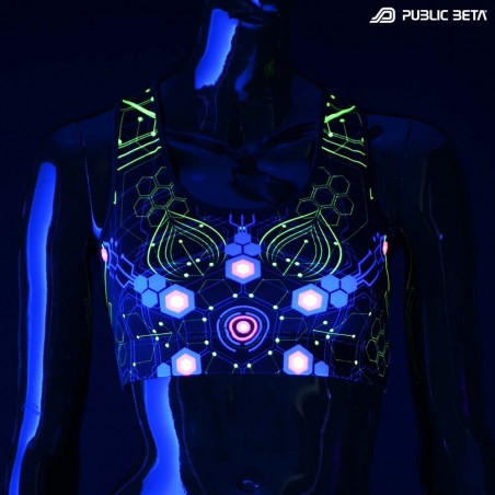 Atomic Generator UV D2 Active Top / Psychedelic Active Wear