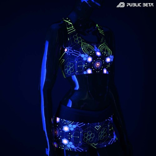 Atomic Generator UV D2 Active Top / Psychedelic Active Wear