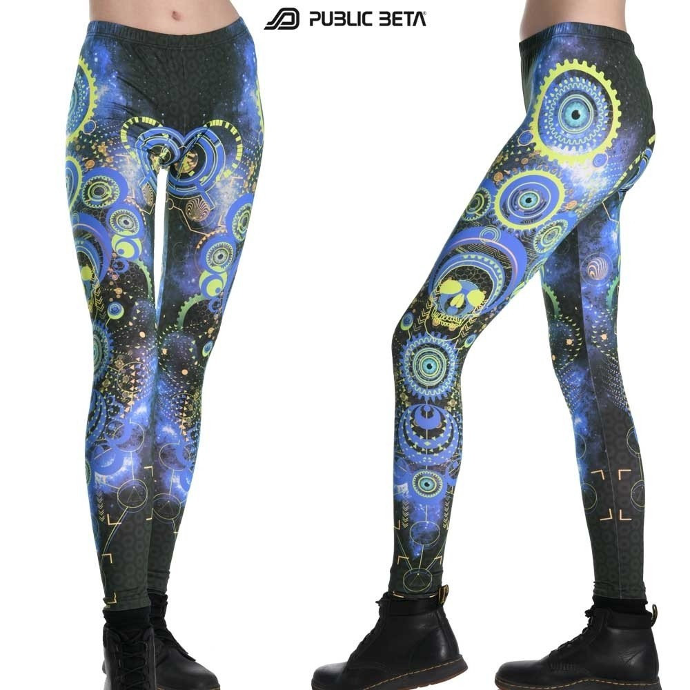 Host UV D119 Fluorescent Printed Leggings