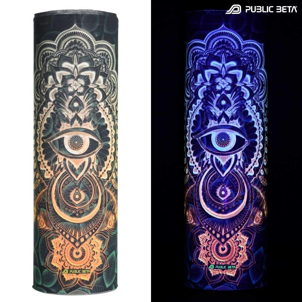 Bandana / Glow in Blacklight Face Mask/ CivilEye D129