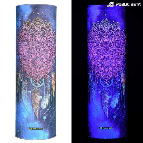 Tube Bandana / UV Active Face Mask/ Glow D130