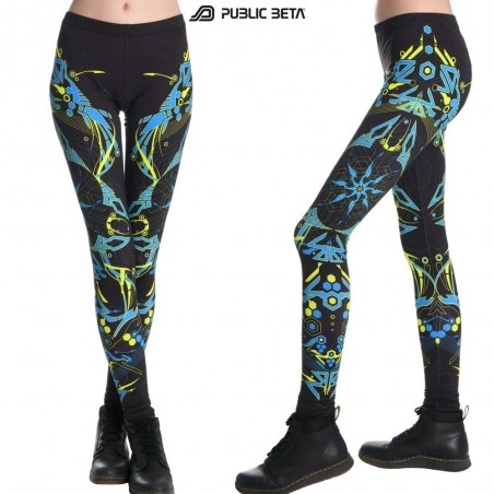 Totemo UV Active Psytrance Clothing