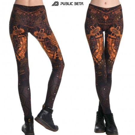 Cydonia UV D73 Leggings by Public Beta Wear