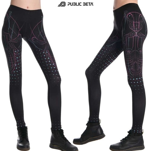 DMT UV D78 - Leggings by Public Beta Wear