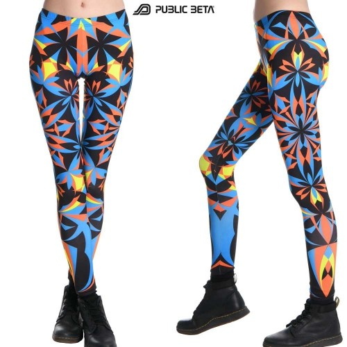 Iris UV D22 - Leggings by Public Beta Wear