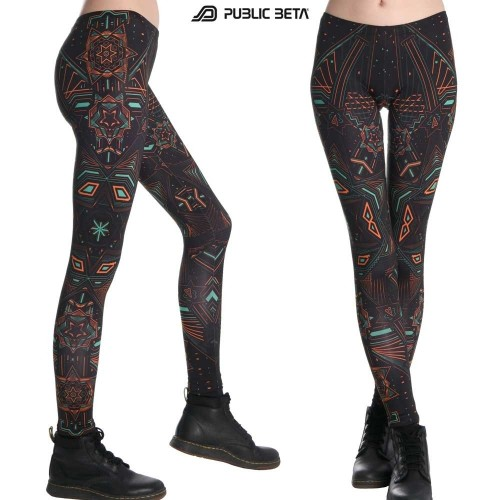 Star System UV D61 - Leggings by Public Beta Wear