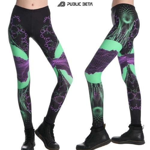 Supersymmetry UV D80 - Leggings by Public Beta Wear