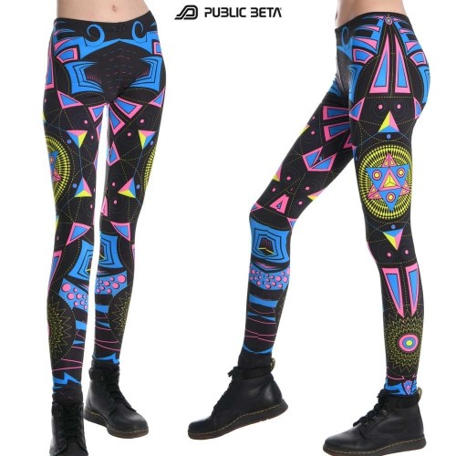 Hexodus UV D72 - Leggings by Public Beta Wear