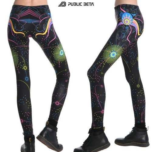 Fusion UV D70 - Leggings by Public Beta Wear