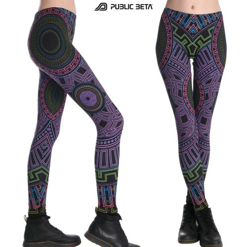 Infinity UV D40 - Leggings by Public Beta Wear