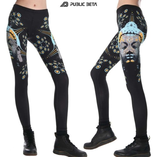 Quantumkarma UV D57 - Leggings by Public Beta Wear