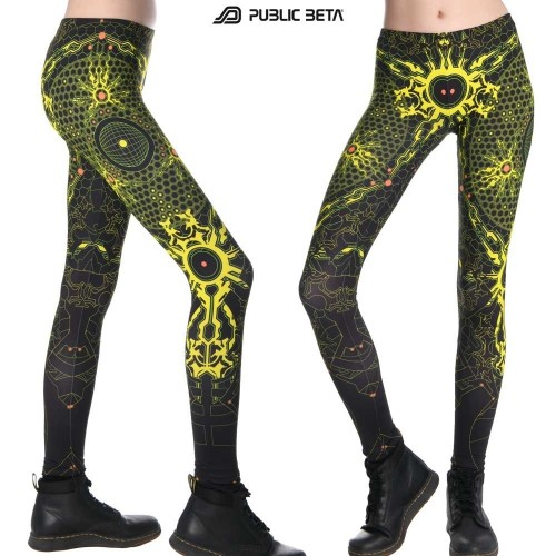 Core Protector UV D39 - Leggings by Public Beta Wear