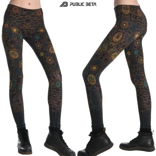 Time Machine UV D23 Leggings by Public Beta Wear