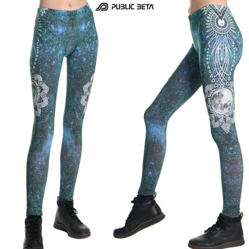 FullMoon UV D55 Leggings by Public Beta Wear