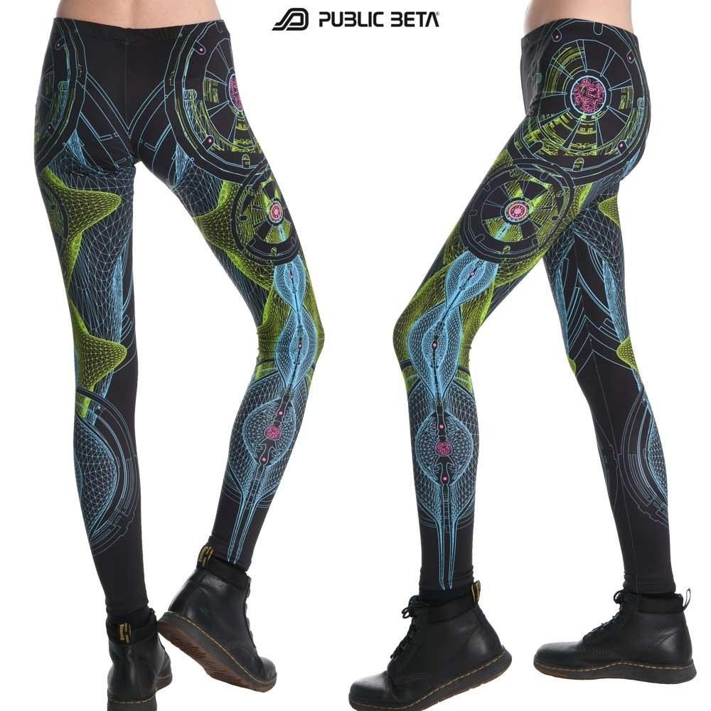 Neuron UV D52 Neon Glow Leggings