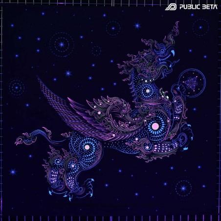 Draco D124 Psychedelic UV Tapestry