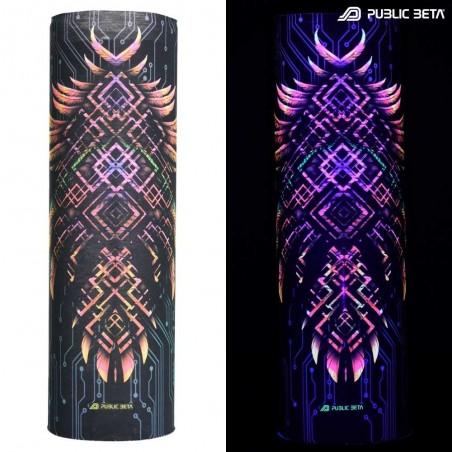 Tube Bandana / UV Active Face Mask /Supernatural D136