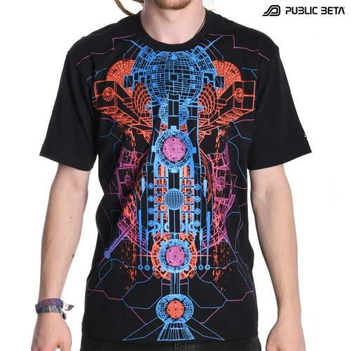 UV Active Psywear T-Shirt / Destination 101 UV D65