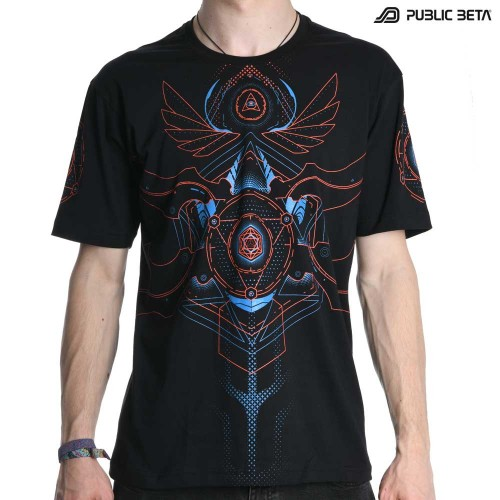 Public Beta 100 UV D100 Blacklight Active T-Shirt