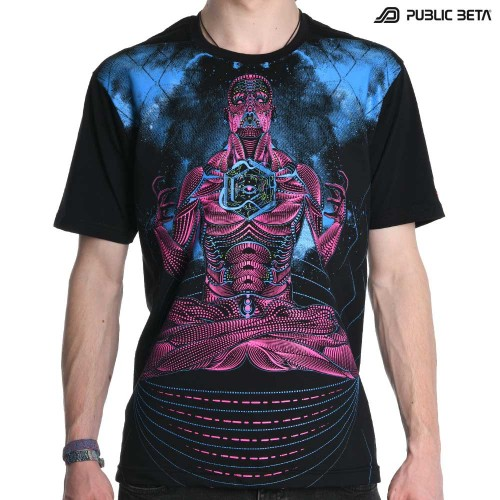 Blacklight Active T-Shirt / Necromancer UV D113