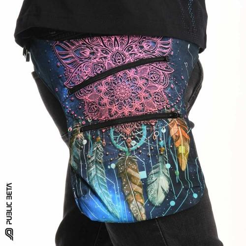 Glow UV D130 Pocket Belt / Psywear