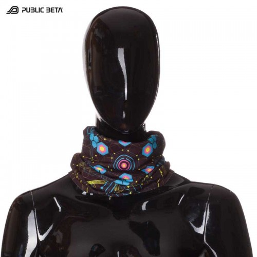 Tube Bandana / UV Active Face Mask/ Atomic Generator D2