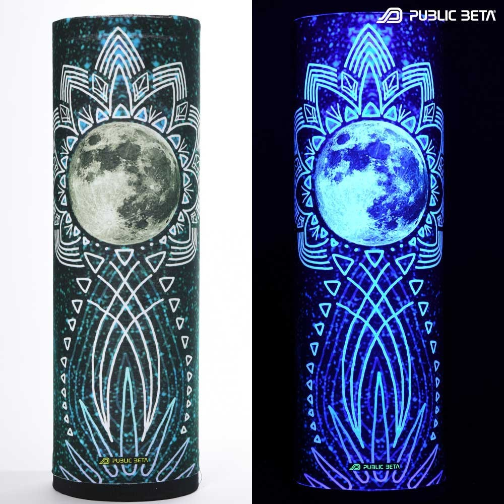 Tube Bandana / UV Active Face Mask/ FullMoon D55