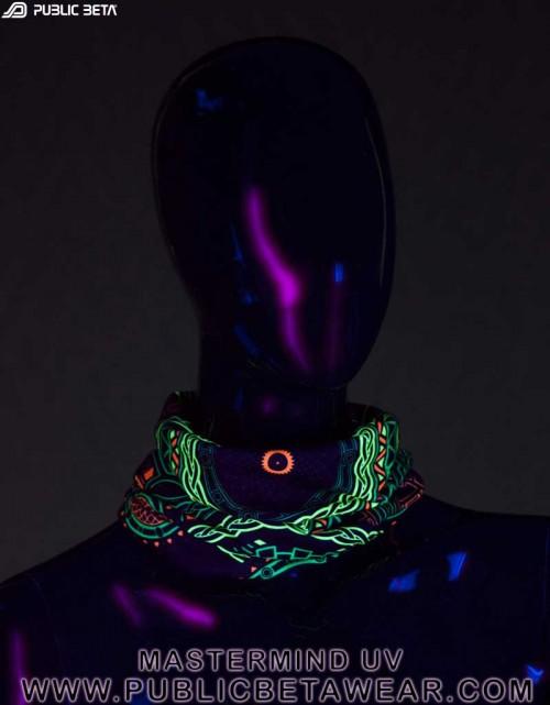 UV Active Tube Bandana  / Mastermind D54 / Psywear