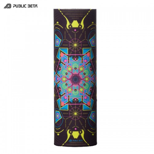 Glow in Blacklight Tube Bandana