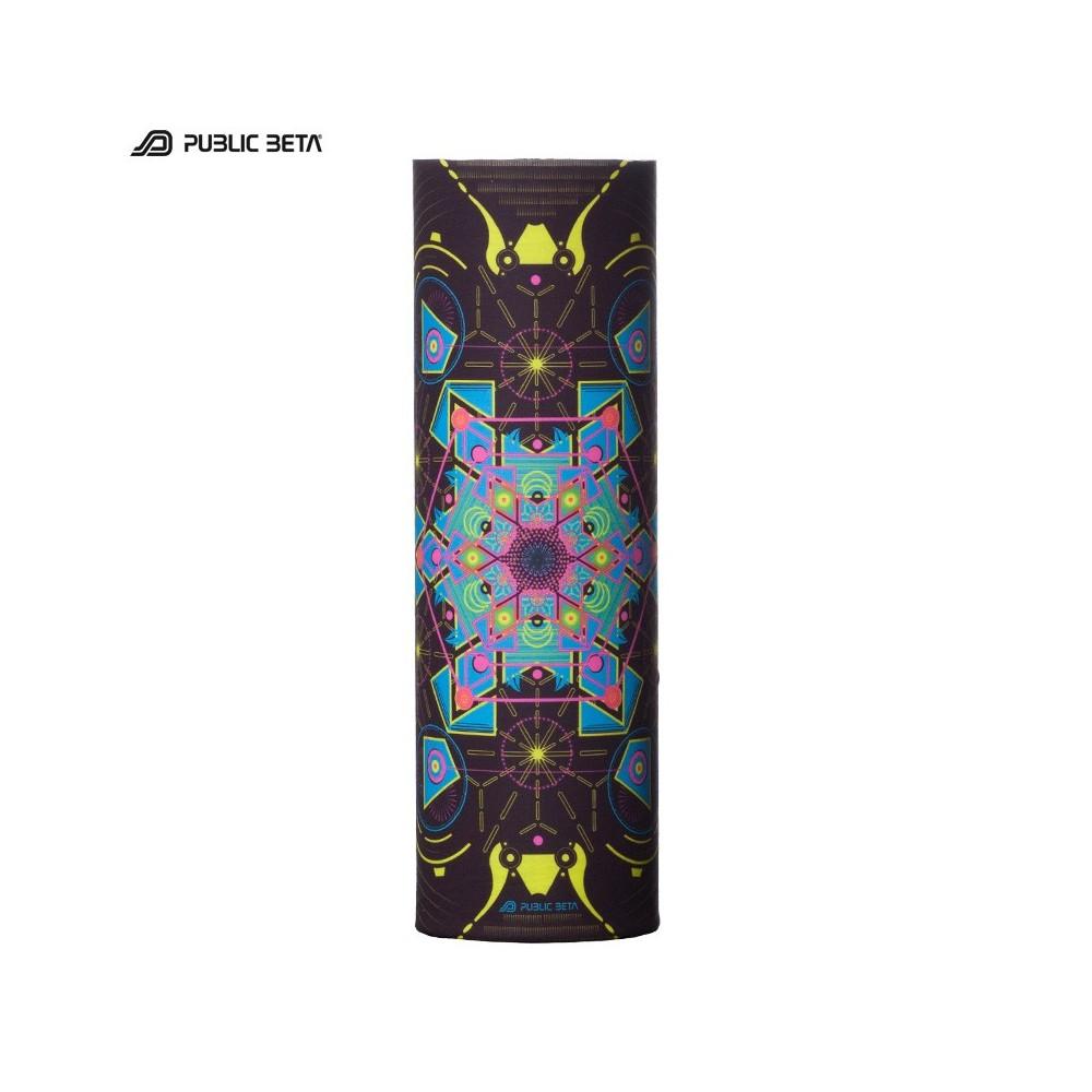 Glow in Blacklight Tube Bandana / Face Mask / Aquatic D71