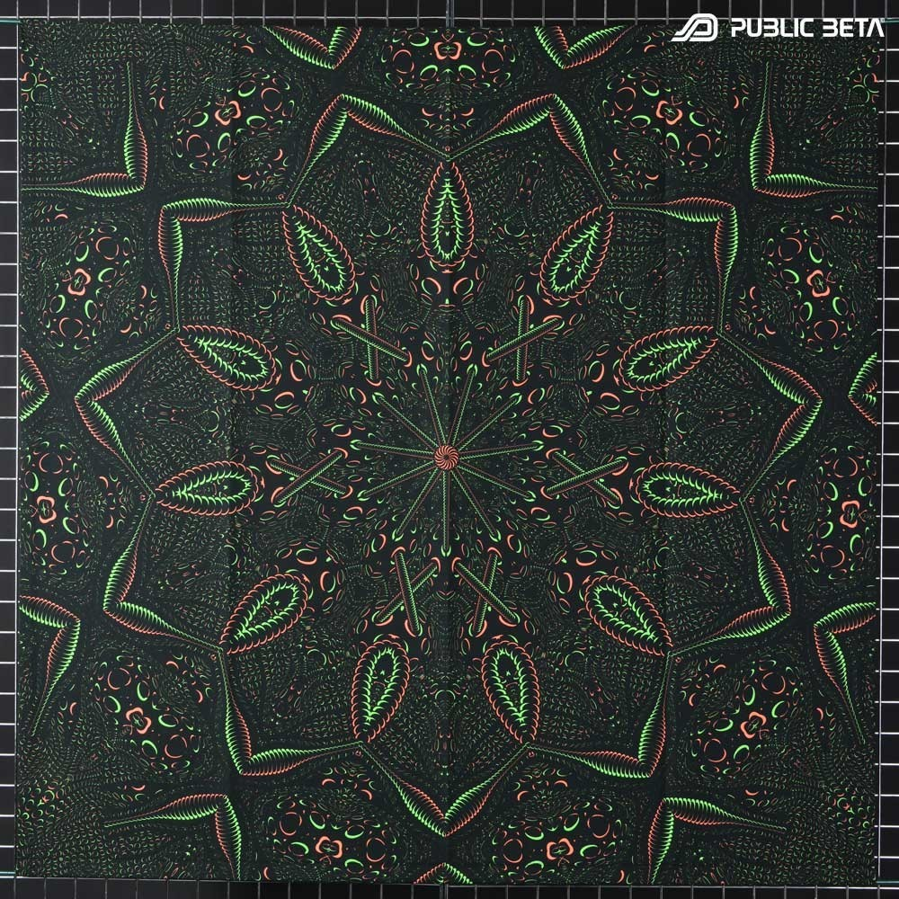 UV Art Wallhanging / Psycrifise D125 UV