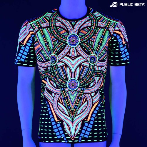 Blacklight Active T-Shirt / Perplexed UV D101
