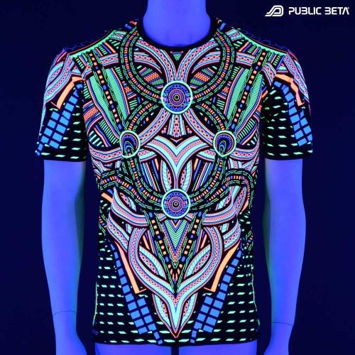 Blacklight Active T-Shirt / Perplexed UV D101