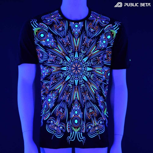 Glow in Blacklight Psywear / Public Beta Wear