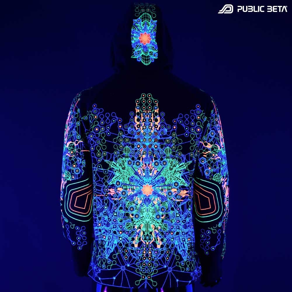 Glow in Blacklight Psywear