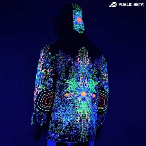 Glow in Blacklight Psywear