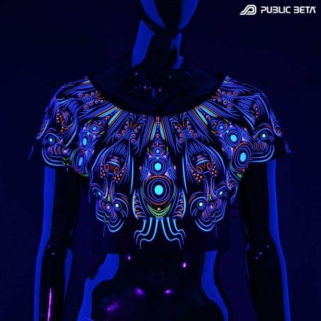 Glow in Blacklight Top. Public Beta Wear